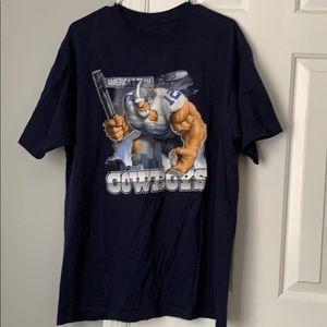 Vintage Reebok Dallas cowboys graphic shirt size L